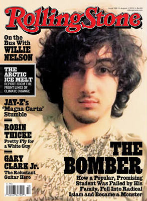 August, 2013, Rolling Stone Cover