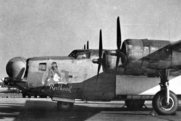 """Rovin' Redhead"" parked at NAS North Island at the conclusion of WW II. Plane Commander: LCDR Harvey C. Paige USNR. This aircraft was part of Fleet Photo Reconnaissance Squadron One (VD-1) Which operated from Guadalcanal and Guam. LCDR Paige was the skipper of the squadron at the end of the war."