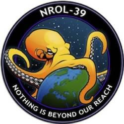 This is the real mission patch for a rocket carrying spy satellites heading into space.  What do you think?