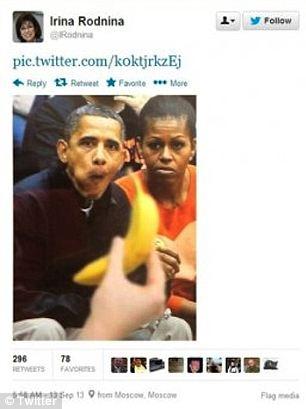 Irina_Rodnina_Obama_Tweet