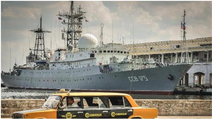 Russian Vishnya (aka Meridian) class warship CCB-175 Viktor Leonov