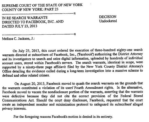 NYSC on Facebook warrant
