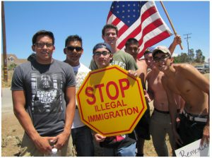 Murrieta illegal immigration protesters. Funny, they're not at all like the Left portrays them.