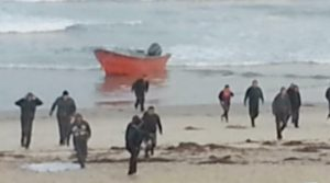 Like a scene out of the Film Red Dawn, illegals storm Mission Beach in San Diego.