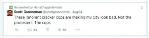 State Senator Maria Chapelle-Nadal retweeted this gem following her F-bomb laced rant at Governor Nixon.