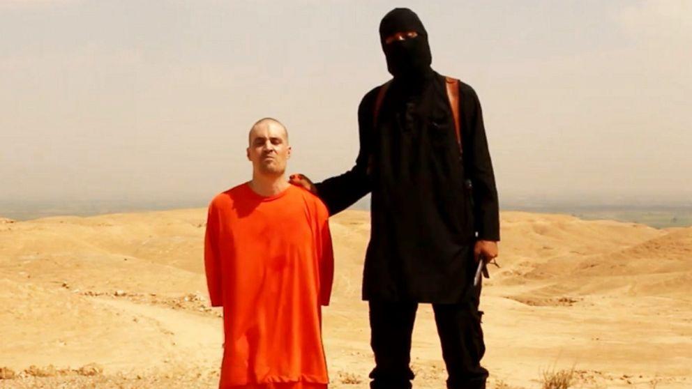Mohammed Emwazi, aka Jihadi John, shown just before the beheading of journalist James Foley in August 2014