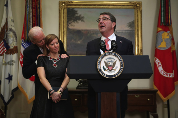 V.P. of Groping: Joe Biden Habitually Touches Women and Girls