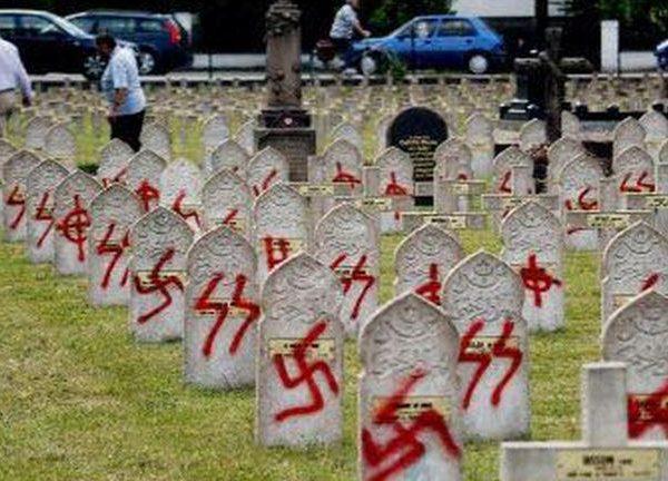 #AntiSemitism Rising? Targeting of Jews in Europe, Swastikas in United States