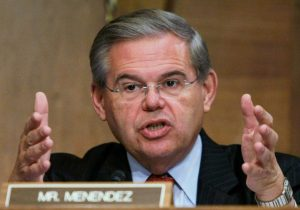 Senator Robert Menendez, D-NJ