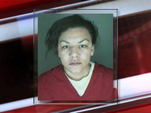 Mugshot of suspect Dynel Lane, courtesy of The Denver Channel