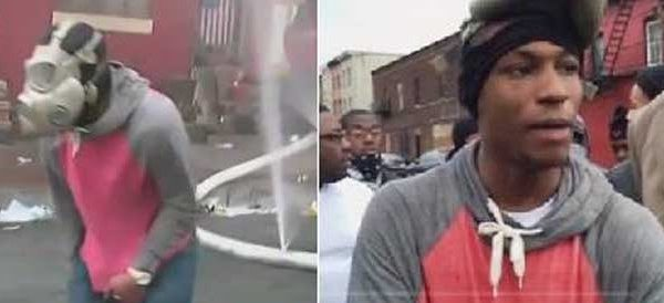 Baltimore Riots: Suspect In Knifing of Fire Hose Sought [Photo]
