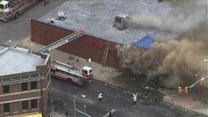 CVS Looted Burned