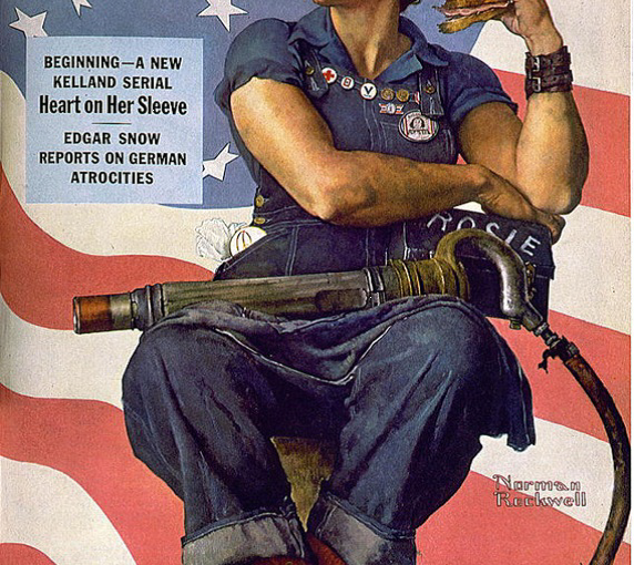 RIP Rosie The Riveter-Model Mary Keefe Died This Week