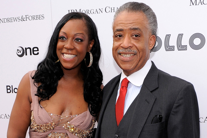 Dominique Sharpton and Reverend Al Sharpton, June 14, 2010 in New York City.  (Photo by Jemal Countess/Getty Images)