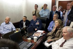 The famed shot from the Situation Room on May 1,  2011 (photo: Reuters)