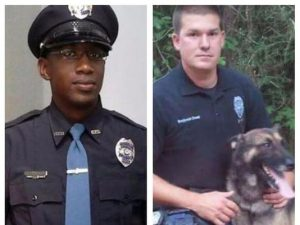 Hattiesburg police officers Liquori Tate and Benjamin Deen (photo: special to The Clarion-Ledger)