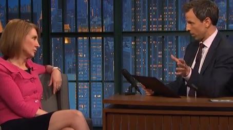 Carly Fiorina Trolls Seth Meyers on Domains. Troll Level: Expert [Video]