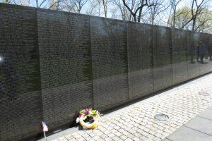The Vietnam Veterans Memorial (photo taken April 2014)