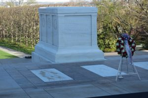 The Tomb of the Unknown Soldier at Arlington National Cemetery (photo taken in April 2014)