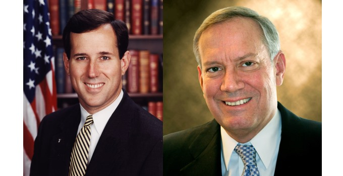 Former Senator Rick Santorum and Former Governor George Pataki