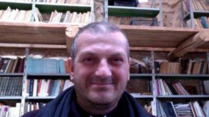 Father Jacques Mourad was kidnapped by masked militants on Thursday