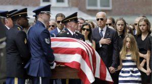 Biden coffin
