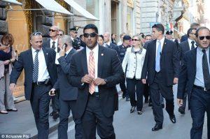 Hillary Secret Service dudes