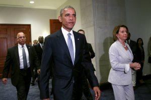 Obama Pelosi trade vote