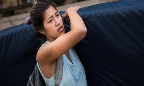 "Columbia's ""Mattress Girl"" Releases a Sex Tape-But It Was Rape!"