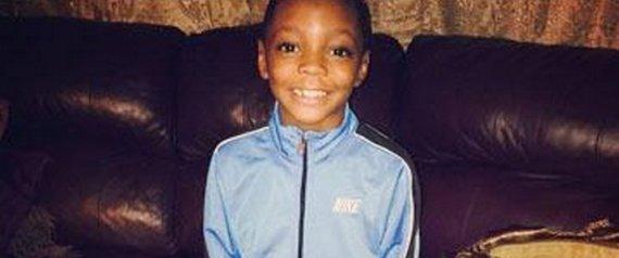 7 year old Amari Brown