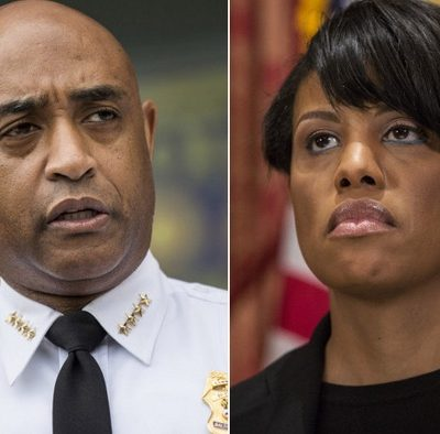 Baltimore Mayor Rawlings-Blake Fires Police Commissioner Batts Citing Rise in Violence