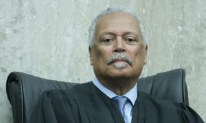U.S. District Court for the District of Columbia judge Emmet Sullivan.  U.S. District Court judge Ketanji Brown Jackson's official Investiture ceremeony.  May 9, 2013.  Photo by Diego M. Radzinschi/THE NATIONAL LAW JOURNAL.