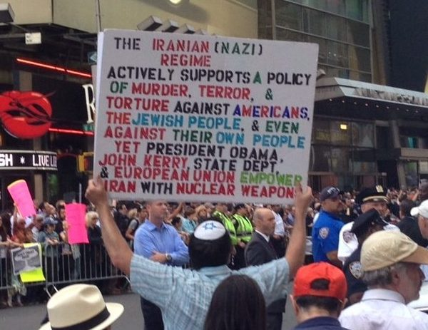#StopIranRally: Thousands Rally in NYC Against Iran Nuke Deal (VIDEO)