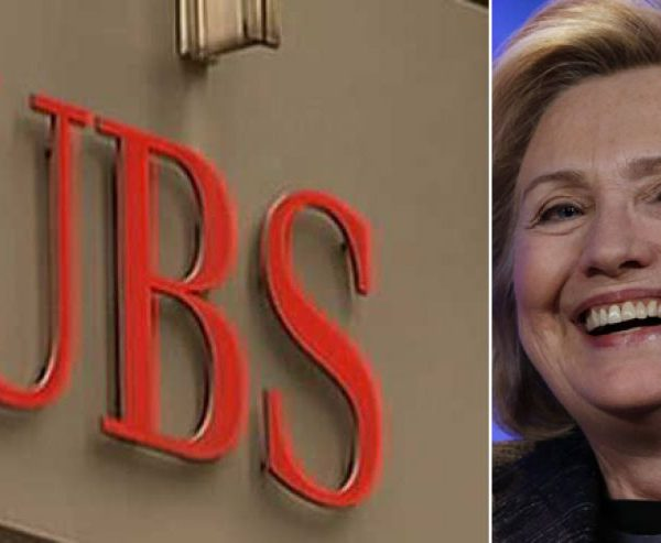 Clinton Foundation Receiving Increased Donations From Swiss Bank UBS