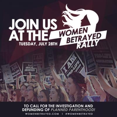 #WomenBetrayed: Pro-Lifers Rally Throughout America