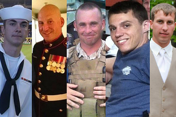 The murdered sailor and Marines from Chattanooga