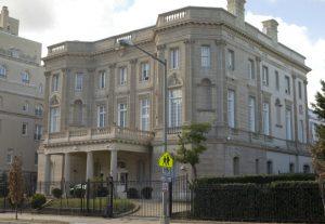 Cuban embassy in Washington, DC