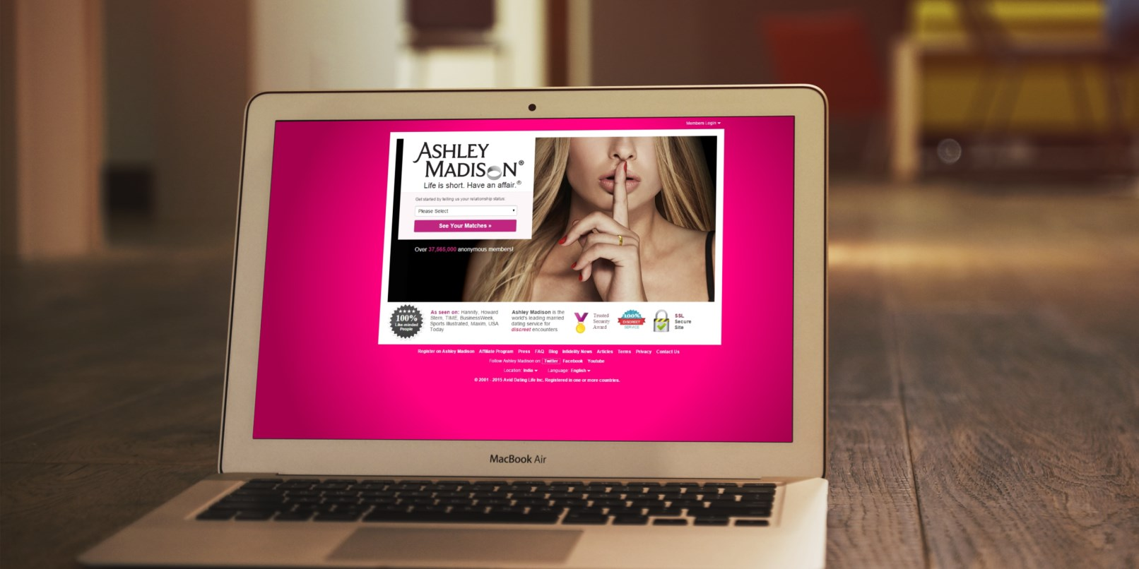 Ashley Madison: Hackers Release Client Data