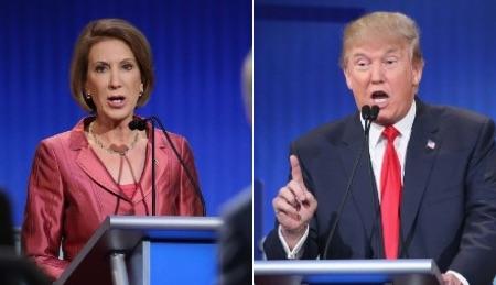 "#DonaldTrump Takes Twitter Jab at #CarlyFiorina Following ""Blood"" Criticism"
