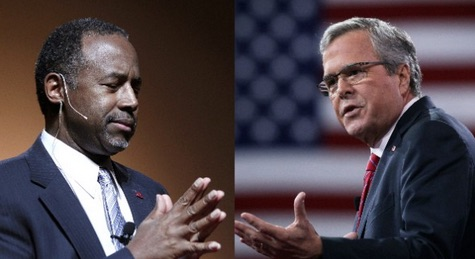 Jeb Loses 3 Top Fundraisers; Ben Carson Nips at Trump's Heels in Iowa