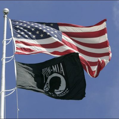 No. The POW/MIA flag is not racist, Rick Perlstein