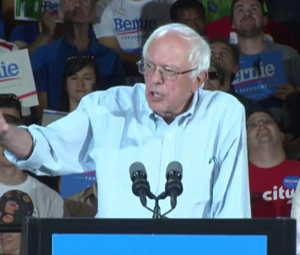 VIDEO: #BernieSanders-Socialist Circus Comes to Portland, OR