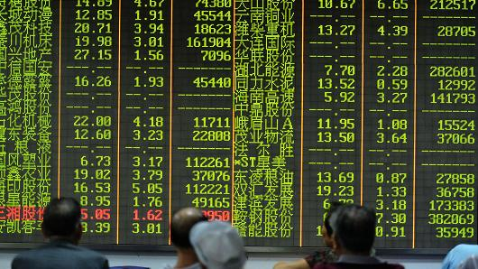 Investors watch the stock market in Hangzhou, Zhejiang Province, China. (photo: ChinaFotoPress/Getty Images)