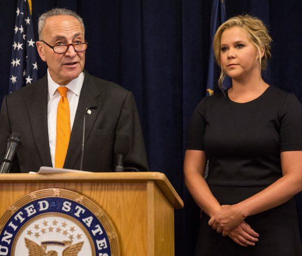 Chuck Schumer Enlists Amy Schumer In Push for Gun Control