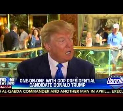 #DumpTrump: Donald Trump Defends Planned Parenthood [VIDEO]