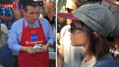 Gay Actress Attempts to Debate Ted Cruz