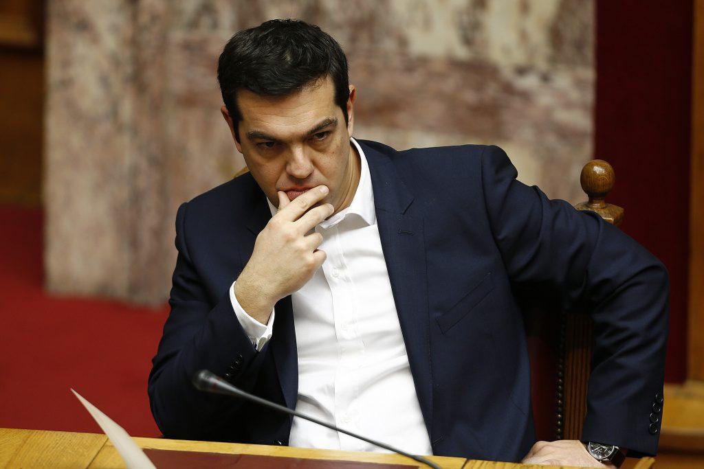 Former Greek Prime minister Alexis Tsipras (REUTERS/Yannis Behrakis)