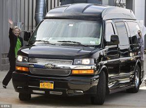 Hillary Scooby Van