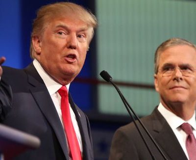 #CNNDebate : Jeb Bush Spars With Trump Over Brother's Legacy and Safety