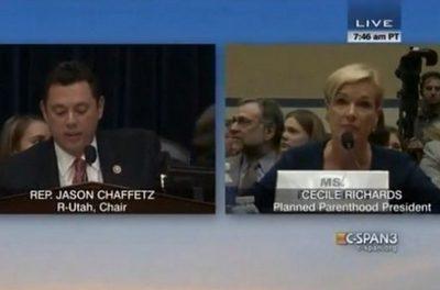 Oversight Hearing: Jason Chaffetz Excoriates Planned Parenthood Prez on Group's Finances [VIDEO]
